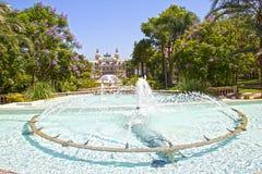 Monte - jardins de Carlo, Monaco Foto de Stock Royalty Free