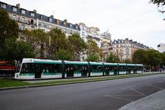 Monte la París imagen de archivo