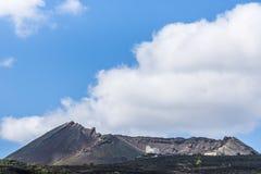 Monte losu angeles korony słonecznej wulkan Fotografia Stock