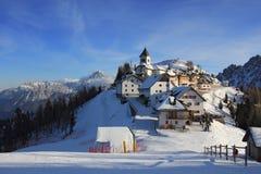 Monte Lussari Royalty Free Stock Photos