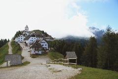 Monte Lussari (UD - Italy) Royalty Free Stock Photo