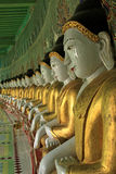 Monte Mandalay de Sagaing dos imagies de Buddha @ Imagem de Stock