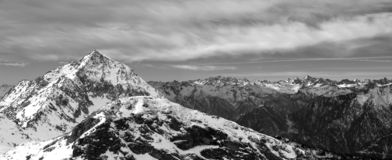 Monte Mars. In Italian Alps Royalty Free Stock Image