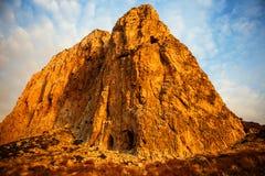 Monte Monaco in San Vito lo Capo royalty free stock image