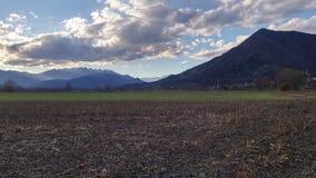 Monte Musinè, Alpi Graie, Piemonte, Italia Foto de archivo