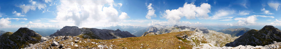 Monte Negro mountain panorama Stock Photos
