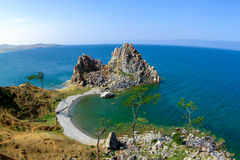 Monte no Baikal Foto de Stock Royalty Free