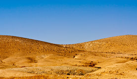 Monte no deserto Fotografia de Stock