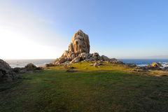 Monte no litoral Foto de Stock