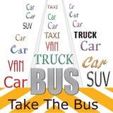 Monte o ônibus Imagens de Stock