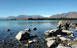 Monte o cozinheiro em Nova Zelândia Fotos de Stock