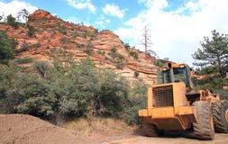 Monte o parque nacional de Zion Fotografia de Stock Royalty Free