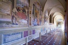 Monte Oliveto Maggiore Royaltyfri Bild