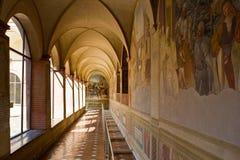 Monte Oliveto Maggiore fotografía de archivo