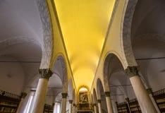 Αβαείο Monte Oliveto Maggiore, Τοσκάνη, Ιταλία Στοκ Φωτογραφίες