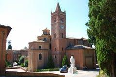 Monte Oliveto Maggiore Abbey Arkivfoton