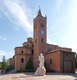 Monte Oliveto Maggiore Abbey Royaltyfria Foton