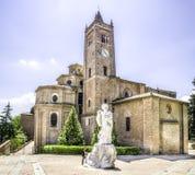 Monte Oliveto Maggiore - Asciano - Siena - tuscany Arkivfoto