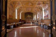 Monte Oliveto Maggiore Stock Images