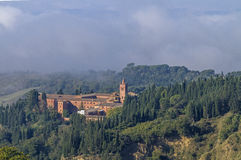 Monte Oliveto Maggiore Royalty Free Stock Photo