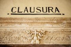 MONTE OLIVETO, TOSKANA Der Innenraum und die Freskos der Abtei von Monte Oliveto Maggiore ist Nahe Siena Italien Stockfoto