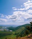 Monte a opinião da parte superior, Israel de Gilboa Foto de Stock Royalty Free