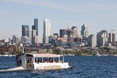 Monte os patos Seattle fotografia de stock