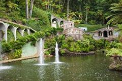 Monte pałac Tropican ogród Fotografia Royalty Free