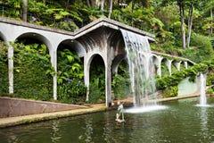 Monte pałac Tropican ogród Zdjęcia Royalty Free