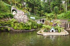 Monte pałac Tropican ogród Zdjęcie Royalty Free