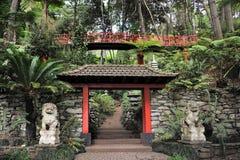 Monte Palace Tropical Garden– Monte, Madeira Stock Images