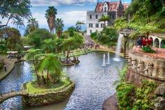 Monte Palace Tropical Garden, Funchal, île de la Madère, Portugal Image libre de droits
