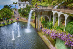 Monte Palace Tropical Garden in Funchal City, Madeira, Portugal Stock Image