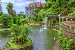 Monte Palace Tropical Garden. Funchal, Madeira, Portugal Stock Photography