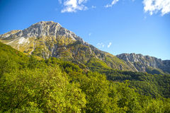 Monte Pania of the Cross Royalty Free Stock Photo