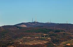 Monte Peglia and Selva di Meana Stock Photography