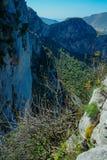 Monte Pellegrino, PA & x28; Italy& x29; Obrazy Royalty Free