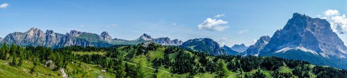 Monte Pelmo - доломиты - Италия Стоковые Фото