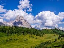 Monte Pelmo - доломиты - Италия Стоковые Изображения RF