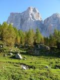 Monte Pelmo Imagen de archivo libre de regalías