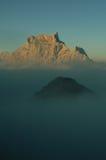 Monte Pelmo Imagem de Stock Royalty Free