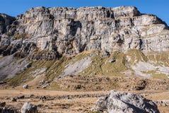 Monte Perdido в национальном парке Ordesa, Уэске. Испания. стоковое фото rf