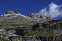 Monte Perdido Photographie stock