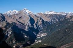 Monte Perdido in Ordesa National Park, Huesca. Spain. Stock Photo
