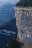 Monte Perdido in Ordesa National Park, Huesca. Spain. Royalty Free Stock Photo