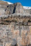 Monte Perdido in Ordesa National Park, Huesca. Spain. Stock Image