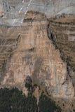 Monte Perdido in Ordesa National Park, Huesca. Spain. Royalty Free Stock Image
