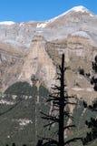 Monte Perdido in Ordesa National Park, Huesca. Spain. Royalty Free Stock Photography