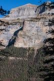 Monte Perdido in Ordesa National Park, Huesca. Spain. Royalty Free Stock Images