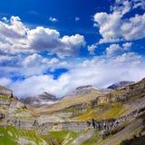 Monte Perdido Valle de Ordesa in Soaso circus Pyrenees Huesca Stock Photography